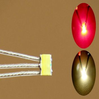 Prewired Bi-Colour SMD LED Red / Warm White